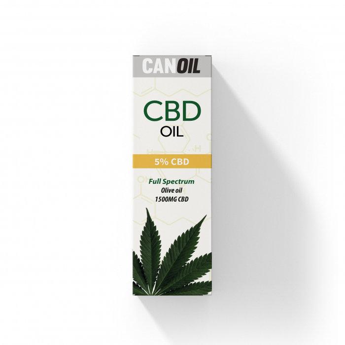 Canoil CBD Olie 5% (1500 MG) - 30ML Full Spectrum - CBD (Olijf Olie)